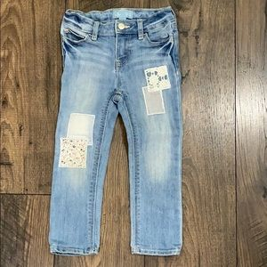 Baby Gap Girls Patchwork Jeans